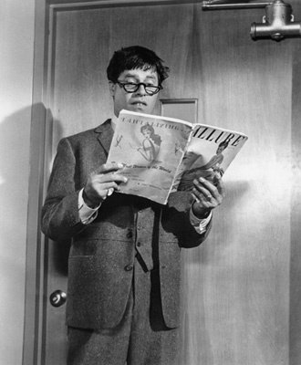 "Jerry Lewis i ""The Nutty Professor"" från 1963."