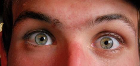 Okänd tysk med vackra ögon.