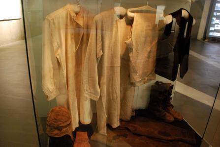 När Andrée, Fraenkel och Strindberg hittades 33 år efter försvinnandet, var de klädda i det här.