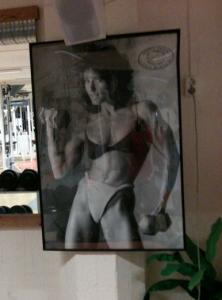 Framför allt längtar jag till forna tiders gympakläder. (Not.)