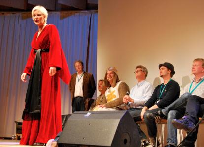 Lady in the Lake, Anders Jansson, Kim Sulocki, Johan Wester, Adde Malmberg, kille i snygg hatt och Johan Glans.