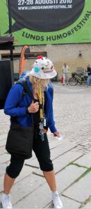 Jag, Stadshallen och hatten.