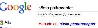 Kränkande behandling av Google.