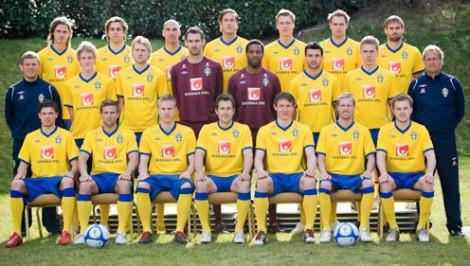 Landskamp! EM-kval! Fotboll! Hurra! (Bild från i mars 2010.)