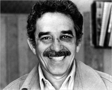 Gabriel García Márquez med blåöga.