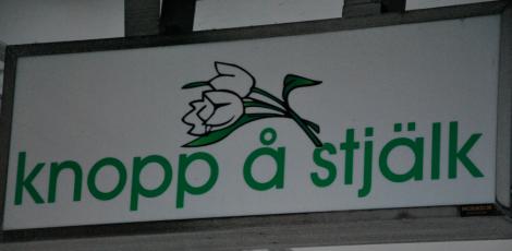 Och se vilket fint företagsnamn vi hittade i Bjärnum!