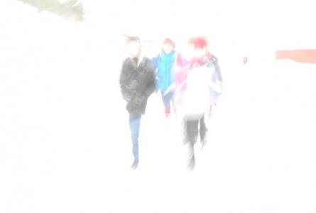 Och här går jag och Orlando Bloom på promenad på Skebokvarsvägen. (Ja, hitta själva på en bildtext då om ni inte tror mig!)