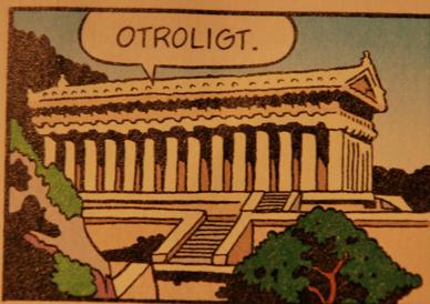 Så såg byggnaderna i Grekland inte alls ut 1250 f.Kr.
