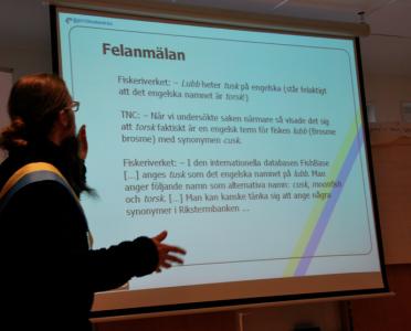 Henrik Nilsson på TNC berättar om arbetet med termerna.