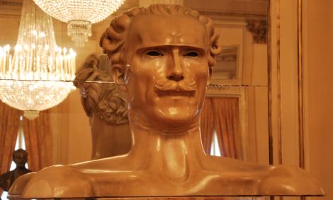 Toscanini, som enligt vår guide hade en stor talong.