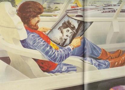 En iPad 1983! (Bilden är beskuren.)