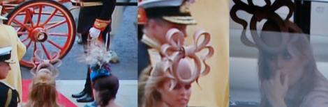 Alla hade hatt i kyrkan. Men få såg ut så här.