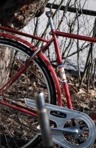 Hett tips: cyklar utan sadel blir inte stulna ens om de är olåsta.