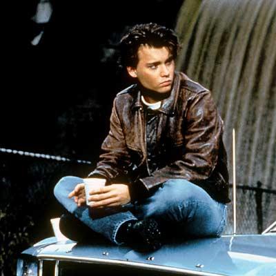 Johnny Depp på en sådan i 21 Jump Street.