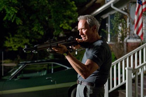 Clint Eastwood framför en sådan i filmen Gran Torino.