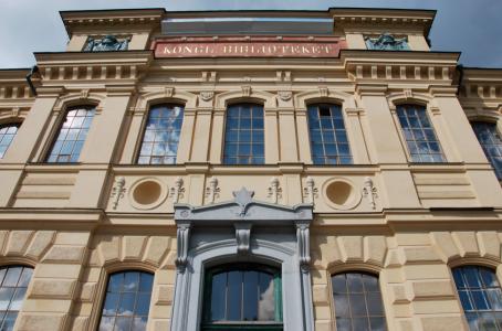 Kungliga biblioteket – den ursprungliga delen från 1877.