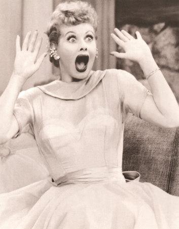 Lämplig illustration, bara. (Lucille Ball, 1911–89.)