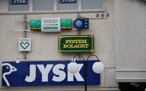 Systembolaget … fast inte?