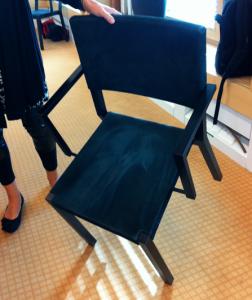Avancerad stol.