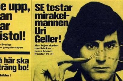 Tidningen Se 1974: Uri Geller är ett mirakel.