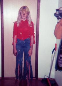 Jag som Lopp-Loella 1976.
