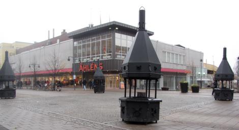 Står luleborna månne på Storgatan och grillar korv?