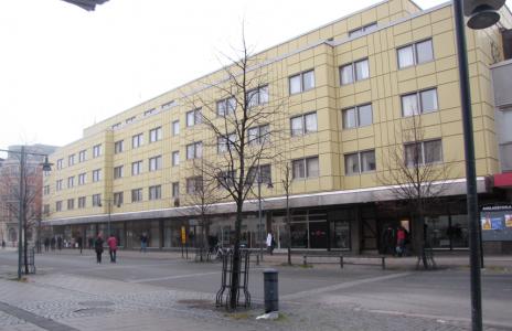 Fula SAS-hotellet – som alla ändå tyckte om, för det var så lyxigt. (Numera är det ett annat hotell.)