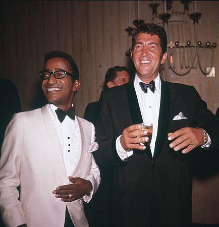 Sammy Davis Jr. och Dean Martin.