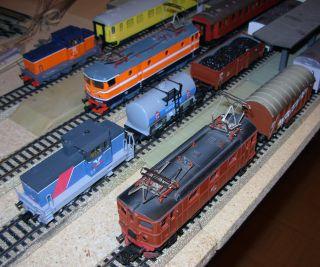 Stillastående tåg.