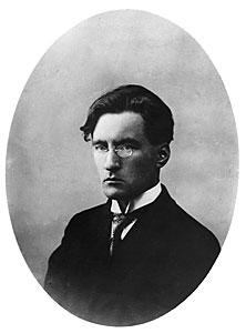 Som ung var Elmer Diktonius en inte särskilt munter man.