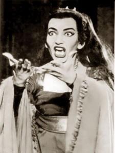 Lugn och fin Medea i Maria Callas gestaltning.
