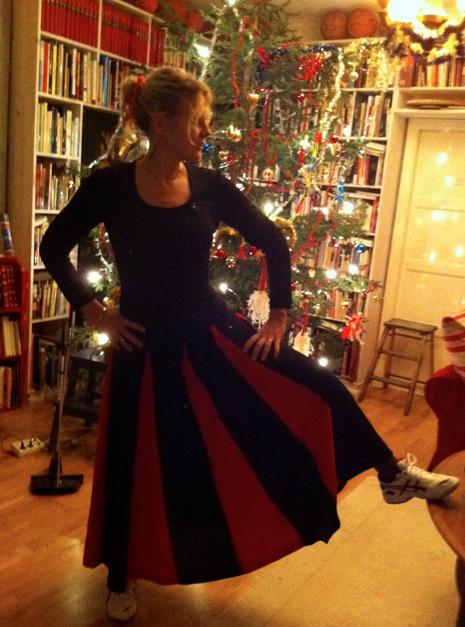Jag på julaftonskvällen 2011.