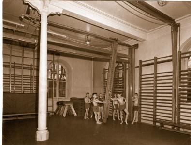 Mariaskolan i Alingsås på 1950-talet.