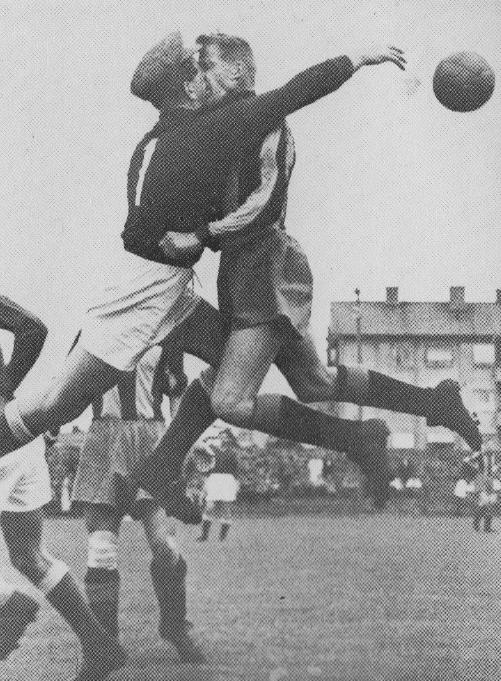 Lennart Eng och Kaj Rosén på Johanneshov. Foto: Sture Ryman (f. 1930).