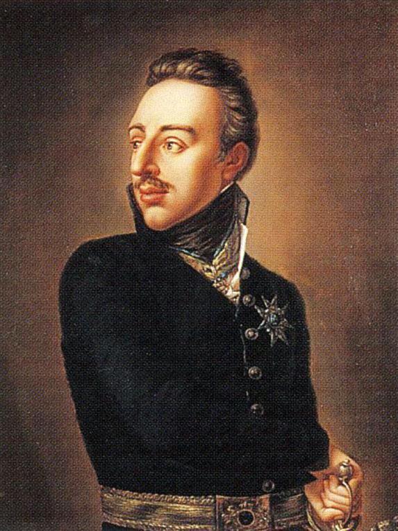 Gustav IV Adolf, målad av Per Krafft d.y. 1809.