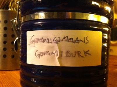 """Gummigummans gummiburk"""
