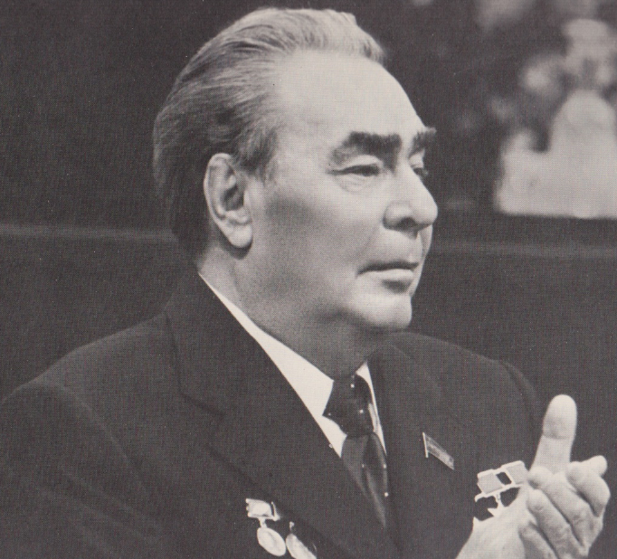 Leonid Brezjnev 1975. (Foto: W. Mussaeljan.)