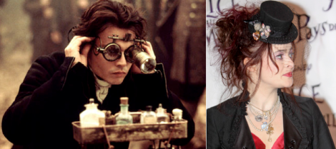 Johnny Depp och Helena Bonham-Carter.