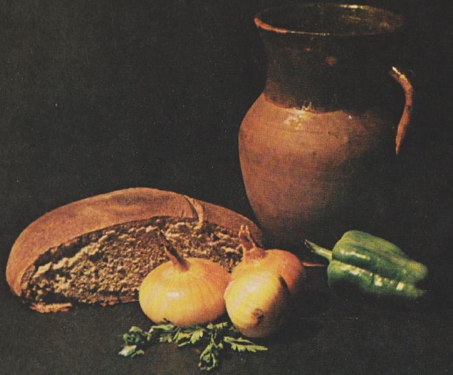 """""""Stilleben med bröd."""" (Foto: A. Starodub.)"""