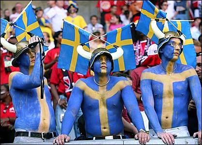 Deppig Sverigematch någonstans någon gång.
