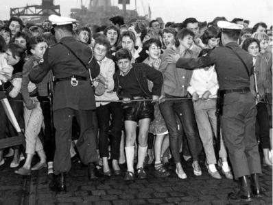 Presleyfans i Bremen 1958.