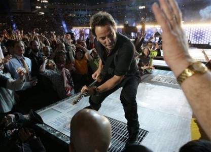 Springsteen i Tampa 2009.