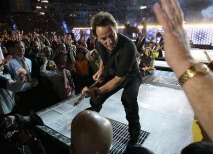 Springsteen i Tampa 2009.