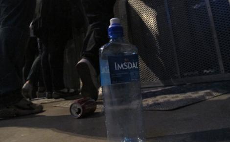 Någonstans på denna flaska finns det spännande fingeravtryck.