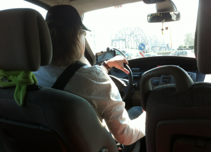 Taxikeps i Riga.