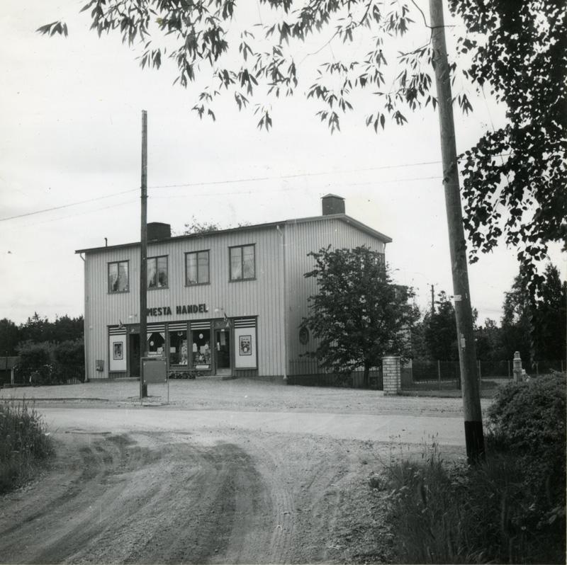 Så här såg huset ut 1956. (Reprisbild.)