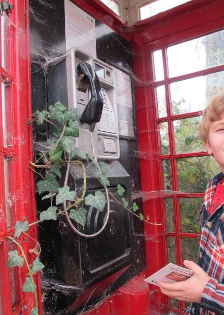 Ingen, säger ingen, har varit i denna telefonkiosk sedan åtminstone … 2011.