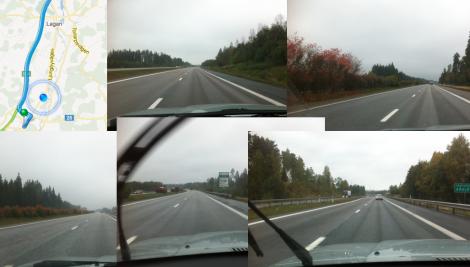 Fast lite kul var det ju att jag lyckades köra fel vid Ljungby trots att det nästan inte är möjligt.