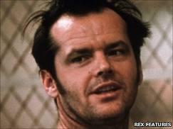 Jack Nicholson. (Jag måste ha blivit lite till åldern kommen, för här tycker jag att han ser jätteläcker ut.)