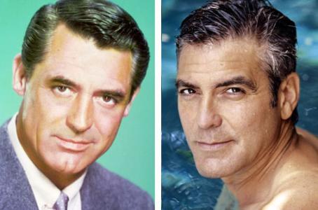 … Cary Grant kan spelas av George Clooney.